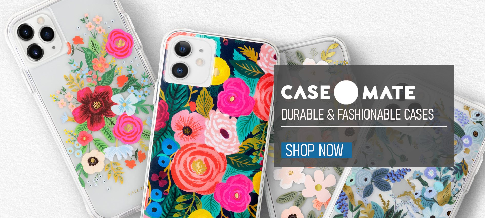 Case-Mate Rifle Paper Durable and Fashionable phone cases